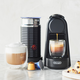 Nespresso Essenza Mini Espresso Machine by De'Longhi with Aeroccino3 Frother