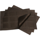 Chilewich Sepia Pocketweave Squares Placemat