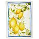 Lemon Linen Kitchen Towel, 28