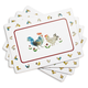 Jacques Pépin Collection Chickens Cork-Backed Placemats, Set of 4