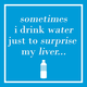 """Surprise My Liver"" Paper Cocktail Napkins, Set of 20"