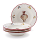 Jacques Pépin Collection Chicks Soup Plates, Set of 4