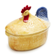 Jacques Pépin Collection Figural Chicken Covered Baker