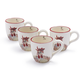 Jacques Pépin Collection Chicken Mugs, Set of 4