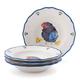 Jacques Pépin Collection Chicks Soup Plates, Set of 4