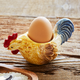 Jacques Pépin Collection Figural Chicken Egg Cup
