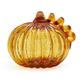 Crackled Glass Pumpkin