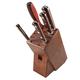 Lamson Silver Forged 6-Piece Block Set, Walnut