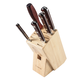 Lamson Silver Forged 6-Piece Block Set, Maple