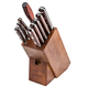Lamson Silver Forged 10-Piece Block Set, Walnut