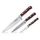 Lamson Silver Forged 3-Piece Chef's Knife Set