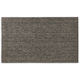 Chilewich Shag Mat, Heathered Black