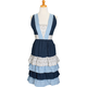Tiered Ruffle Vintage-Inspired Apron