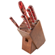 Lamson Fire Forged 6-Piece Block Set, Walnut