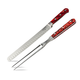 Lamson Fire Forged 2-Piece Roast Carving Set