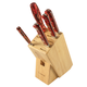 Lamson Fire Forged 6-Piece Block Set, Maple