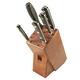 Lamson Earth Forged 6-Piece Block Set, Walnut