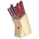 Lamson Fire Forged 10-Piece Block Set, Maple