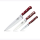 Lamson Fire Forged 3-Piece Chef's Knife Set