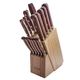 Lamson Rosewood Forged 16-Piece Block Set, Maple