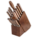 Lamson Rosewood Forged 16-Piece Block Set, Walnut