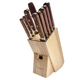 Lamson Rosewood Forged 10-Piece Block Set, Maple