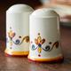 Francesca Salt and Pepper Shakers