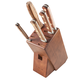 Lamson Rosewood Forged 6-Piece Block Set, Walnut