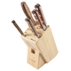 Lamson Rosewood Forged 6-Piece Block Set, Maple
