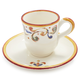 Francesca Espresso Cup and Saucer