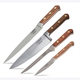 Lamson Rosewood Forged 4-Piece Chef's Knife Set