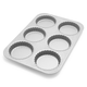 Sur La Table Platinum Professional Mini Tart Pan, 6 Cavity