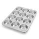 Nordic Ware Naturals Muffin Pan, 12 Cavity