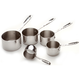 All-Clad Stainless Steel Measuring Cups, Set of 5