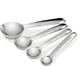 All-Clad Stainless Steel Measuring Spoons, Set of 4