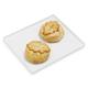 Brie En Croute Set of 2, Medium, Classic Leaf with Mushroom & Classic Leaf with Pine Nut