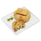 Brie En Croute Set of 2, Large Flag with Cranberry & Medium Classic Leaf with Pine Nut