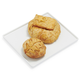 Brie En Croute Set of 2, Large Flag with Mushroom & Medium Classic Leaf with Cranberry