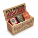 Plymouth Artisan Cheese 3-Piece Set in Vintage Wooden Gift Crate