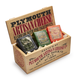 Plymouth Artisan Cheese 3-Piece Savory Set in Vintage Wooden Gift Crate