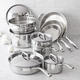 Sur La Table® Tri-Ply Stainless Steel 13-Piece Set