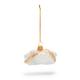 Cannoli Glass Ornament
