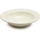 White Pasta Serving Bowl