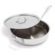 All-Clad Covered Stainless Steel Sauté Pan, 3 qt.