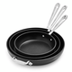 All-Clad HA1 Nonstick Set of 3 Skillets, 8