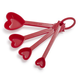 Sur La Table Heart Measuring Spoons, Set of 4