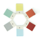 Revol Color Lab Trivet Tiles, Set of 6