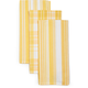 Striped Towels, Sets of 3