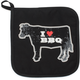 I Heart BBQ Potholder