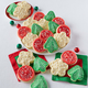 Cheryl's Frosted Holiday Cookies, Set of 36